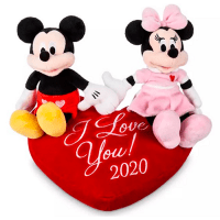 Disney Mickey and Minnie Plush Duo