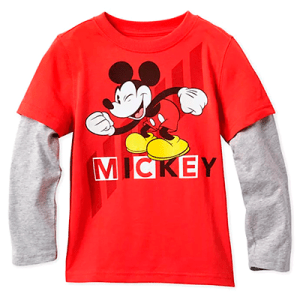 Shop Disney Long Sleeve Layered T-Shirt