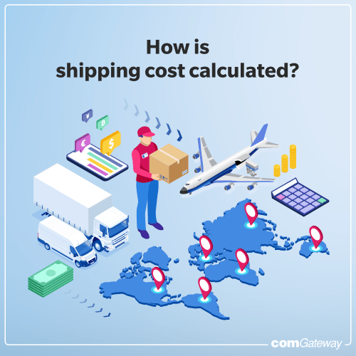 Using comGateway's International Shipping Cost Calculator