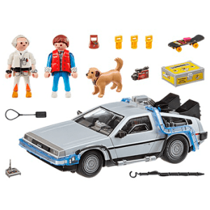 Playmobile Back to the Future DeLorean Time Machine
