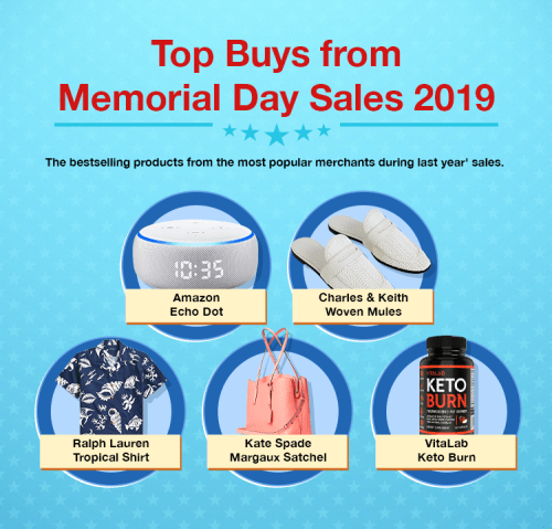 top products for memorial day shopping