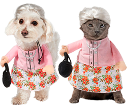 Frisco Granny Dog & Cat Costume