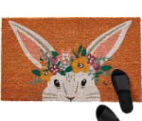 Anthropologie Easter Bunny Doormat