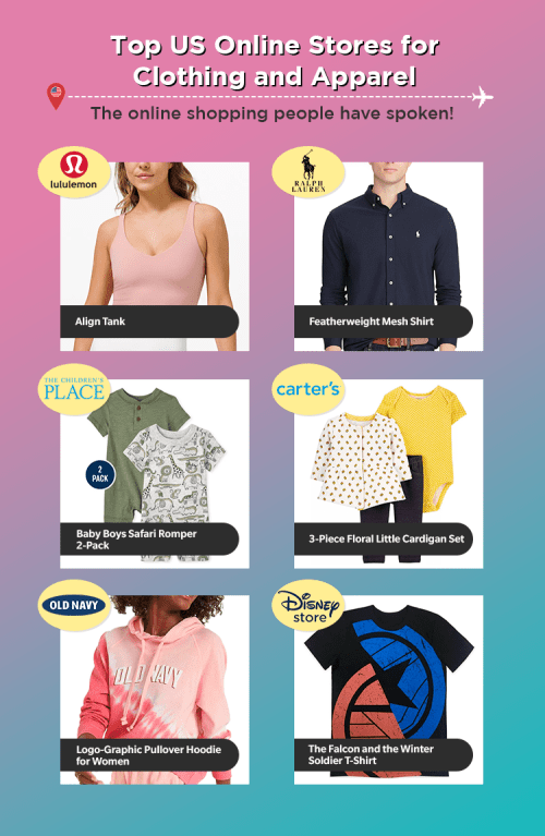 Top US Online Stores for Clothing and Apparel
