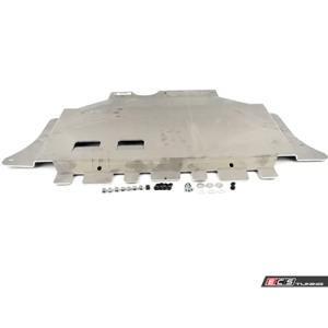 ECS Tuning Aluminum Street Shield Skit Plate Kit