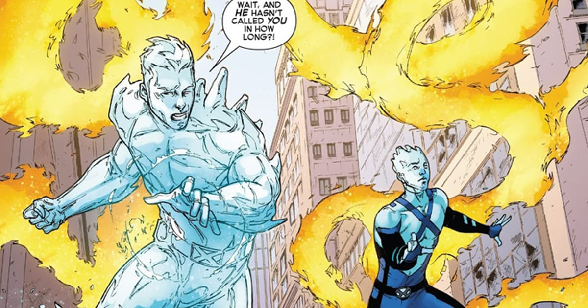 Mom Dad Meet Your Son Iceman 8 Review Comic Watch
