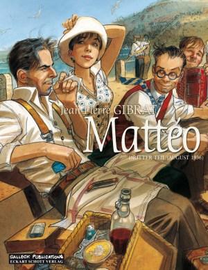 Gibrat: MATTÉO # 3 - AUGUST 1936