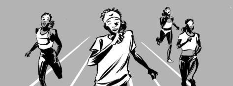 Reinhard Kleist: Der Traum von Olympia - Die Geschichte von Samia Yusuf Omar