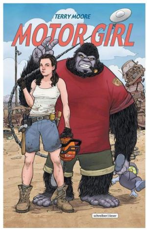 Terry Moore: Motor Girl
