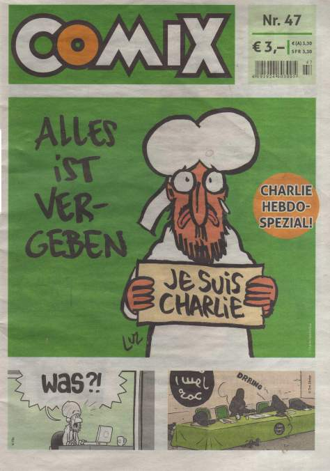 COMIX Charlie Hebdo