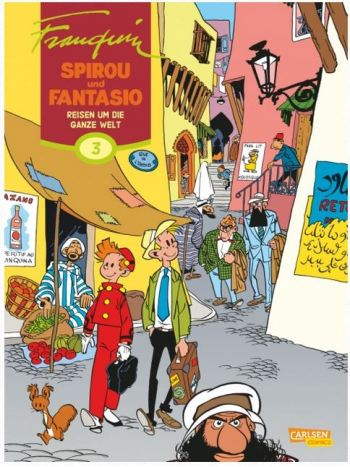 Franquin: Spirou & Fantasio Gesamtausgabe, Band 3: Einmal um die Welt
