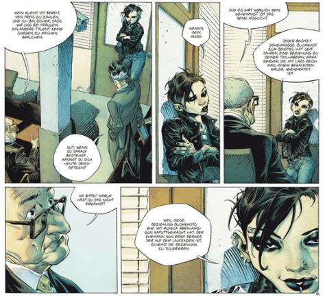 Stieg Larsson - Verblendung als Comic