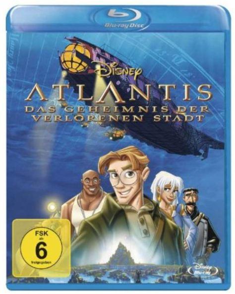 Walt Disney: Atlantis - Das Geheimnis der verlorenen Stadt