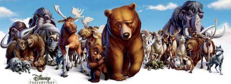 Walt Disney: Bärenbrüder