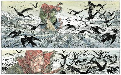 Die Comic-Trilogie von François Boucq & Jerome Charyn