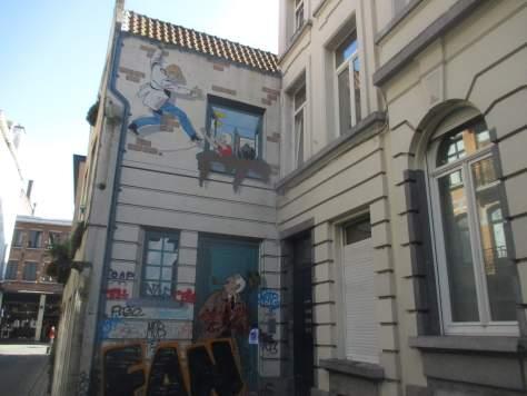 Comicstadt Brüssel