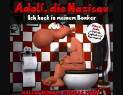 Walter Moers: Adolf total: Alles über den Führer in einem Band