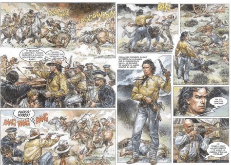 Paolo Eleuteri Serpieri: Tex - Der Held und die Legende
