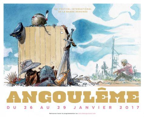 44. Comicfestival in Angoulême