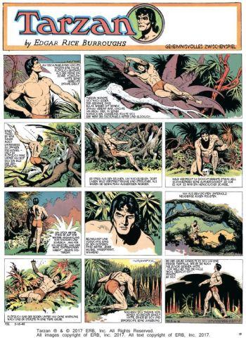 Tarzan Sonntagsseiten, Band 8, 1944 - 1945