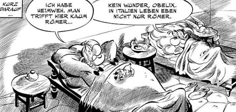 Römischer Wagenlenker Asterix