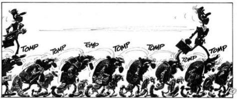 André Franquin: Schwarze Gedanken