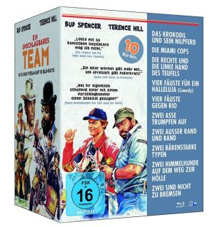 Bud Spencer & Terence Hill - Ein unschlagbares Team