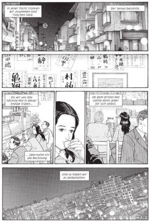 Jiro Taniguchi: Der Himmel ist blau, die Erde ist weiß