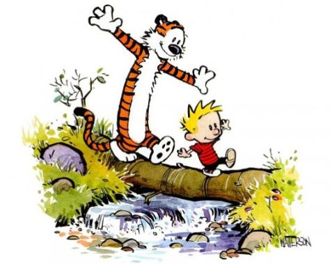 Auf der Suche nach Calvin und Hobbes