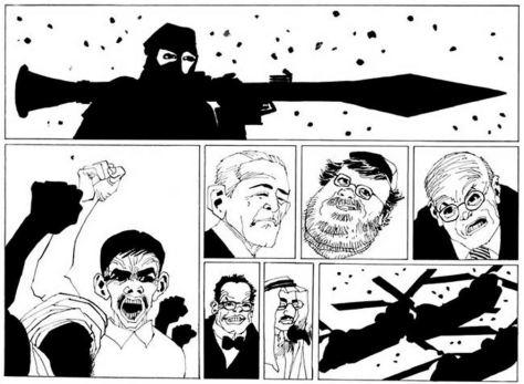 Frank Miller: Holy Terror
