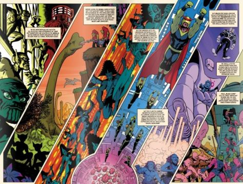 Die Geschichte des Marvel-Universums