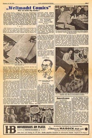 Reddition # 71: Zeitungscomics in Deutschland