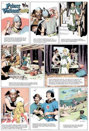 Hal Foster: Prinz Eisenherz, Jahrgang 1955/1956