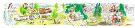 Steffen Haas: Eines Tages hörte man im Walde ein lautes Schreien…