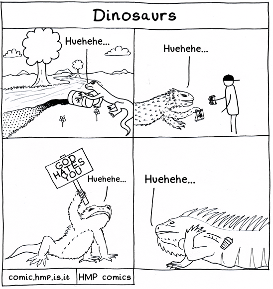 Spoiler: Dinosaur means terrible lizard.