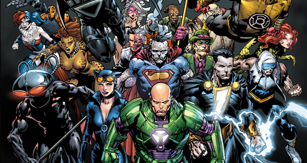 Panel of the Day: Forever Evil #1 (2013)