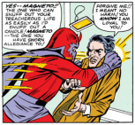 magneto is kind of crazy (issue 7)