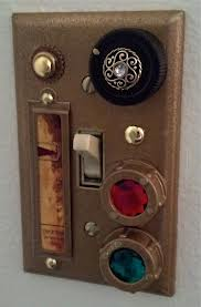 Steampunk Light Switch