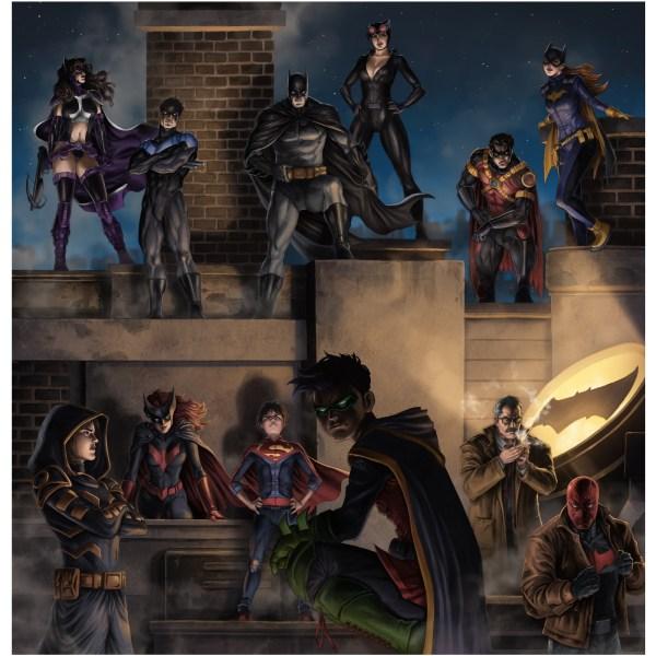 Full-set of Batman Family