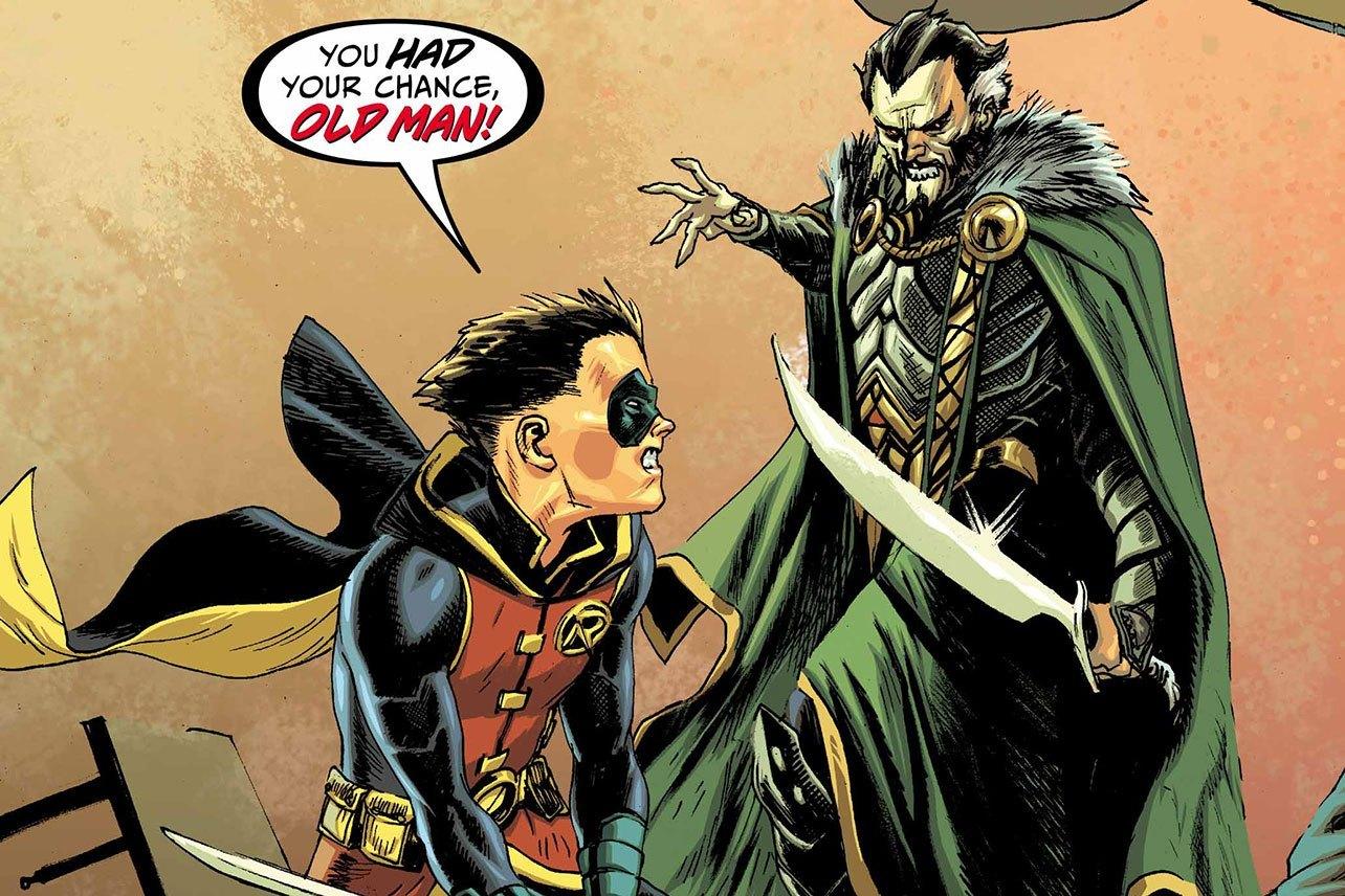 Batman - Prelude To The Wedding - Robin Vs. Ra's Al Ghul #1