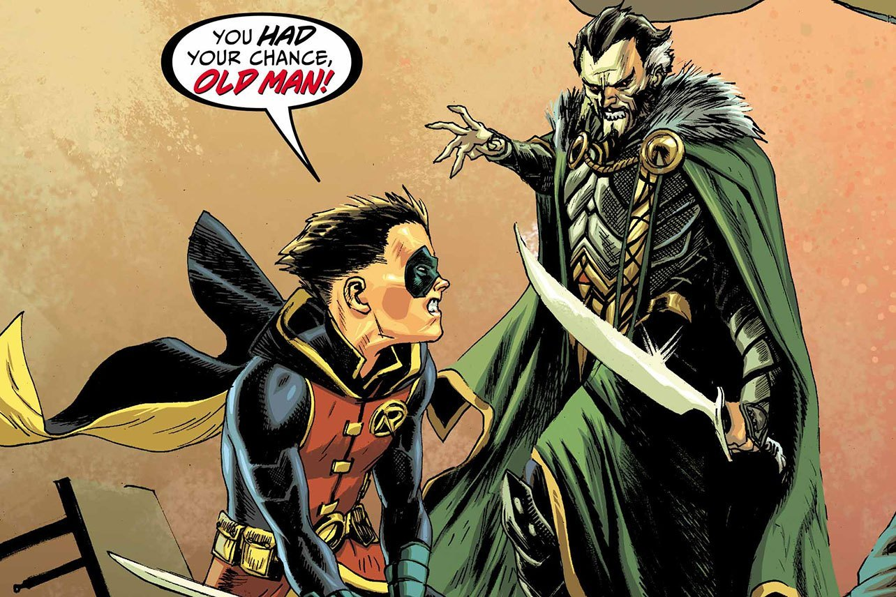 Batman - Prelude To The Wedding - Robin Vs. Ra's Al Ghul #1