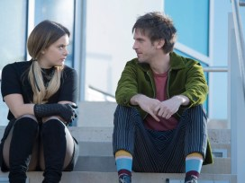 "LEGION -- ""Chapter 16"" - Season 2, Episode 8 (Airs Tuesday, May 22, 10:00 pm/ep) -- Pictured: Rachel Keller as Syd Barrett, Dan Stevens as David Haller. CR: Suzanne Tenner/FX"
