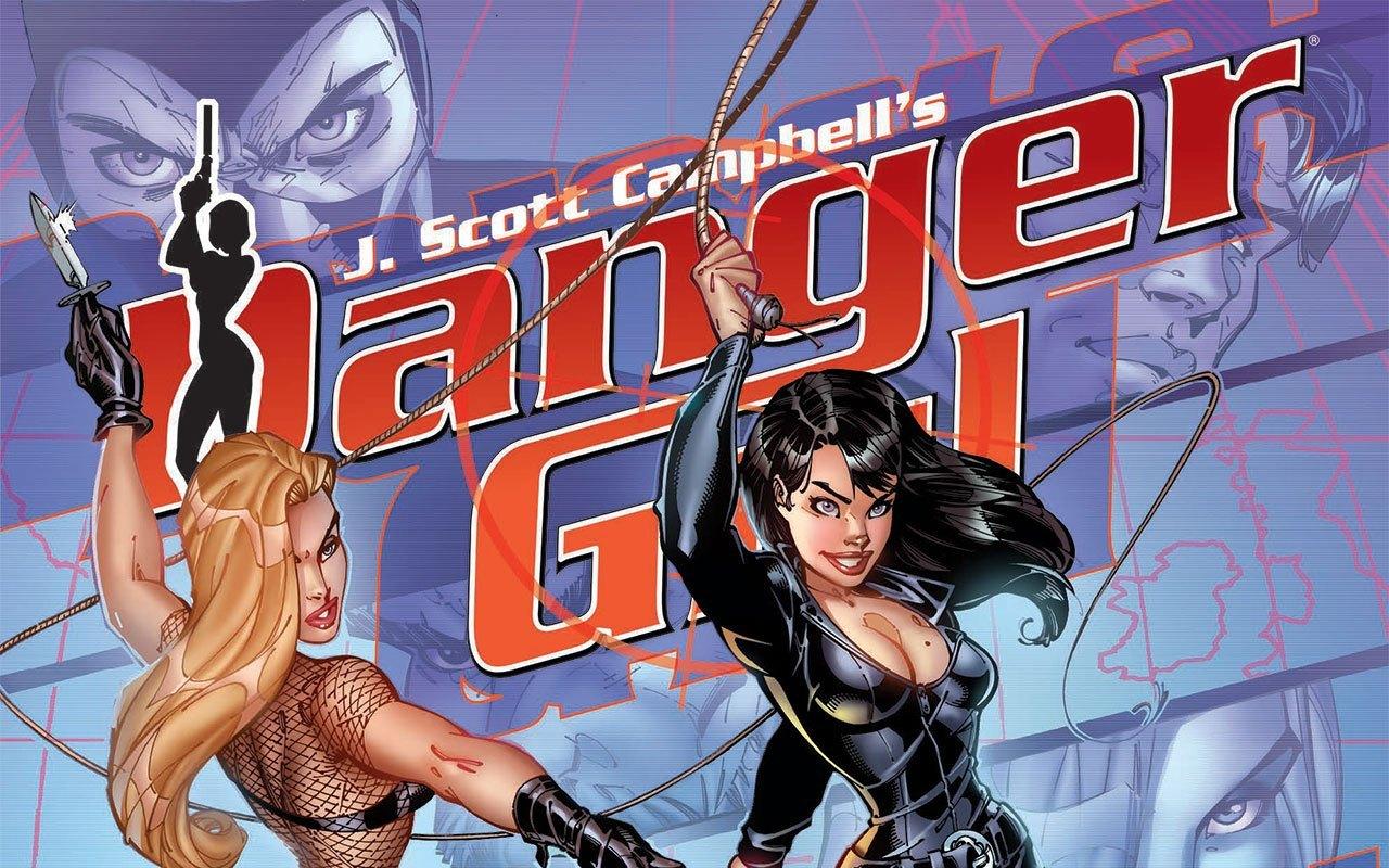 J. Scott Campbell's Danger Girl Gallery Edition Danger Girl Pin-up Book
