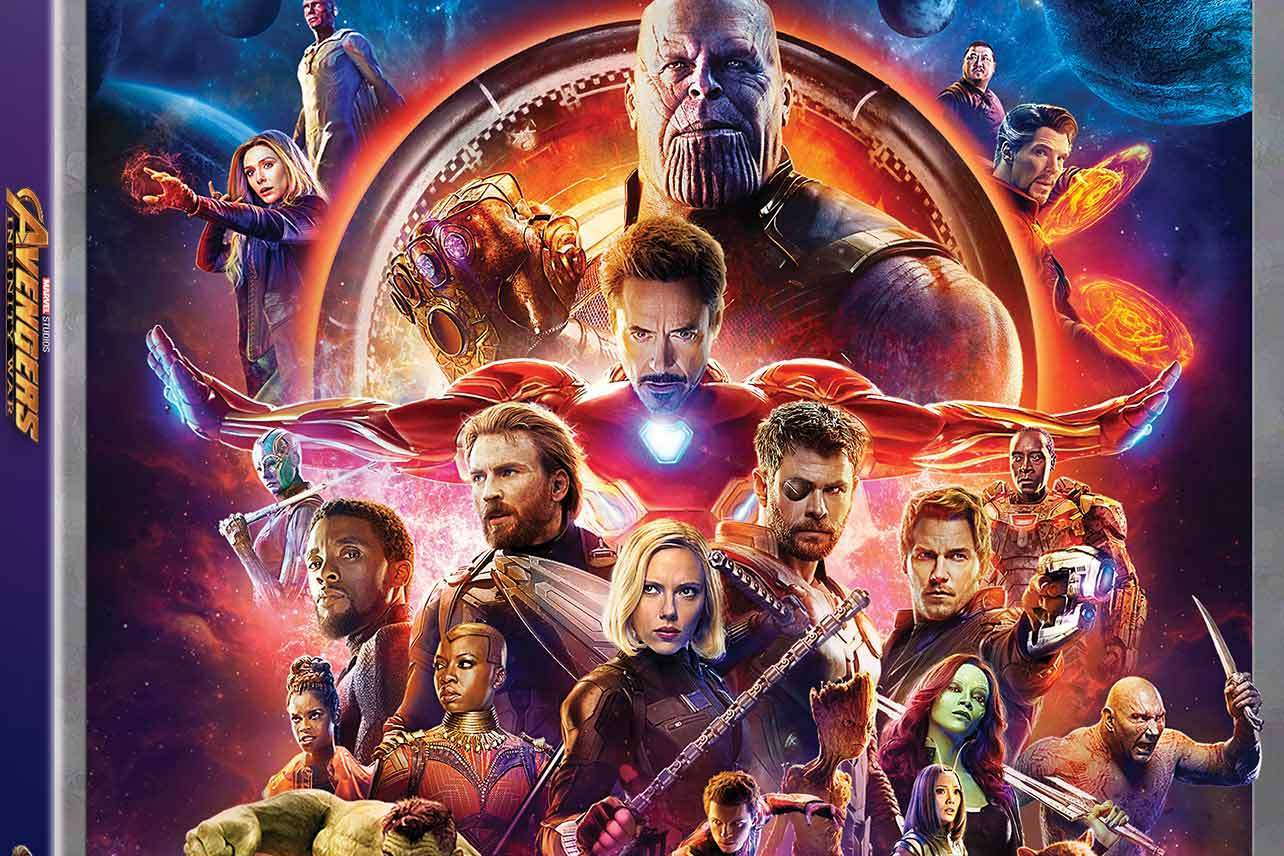 Avengers Infinity War Coming To Blu Ray Dvd On August 14