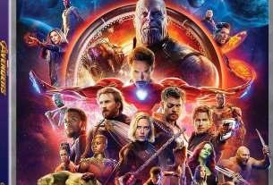 Avengers: Infinity War Blu-Ray