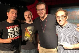 Comic Book Club Aaron Gold and Phillip Kennedy Johnson