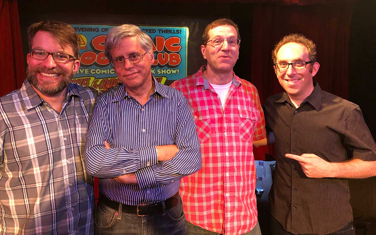 Comic Book Club - Paul Levitz and Tim Hamilton