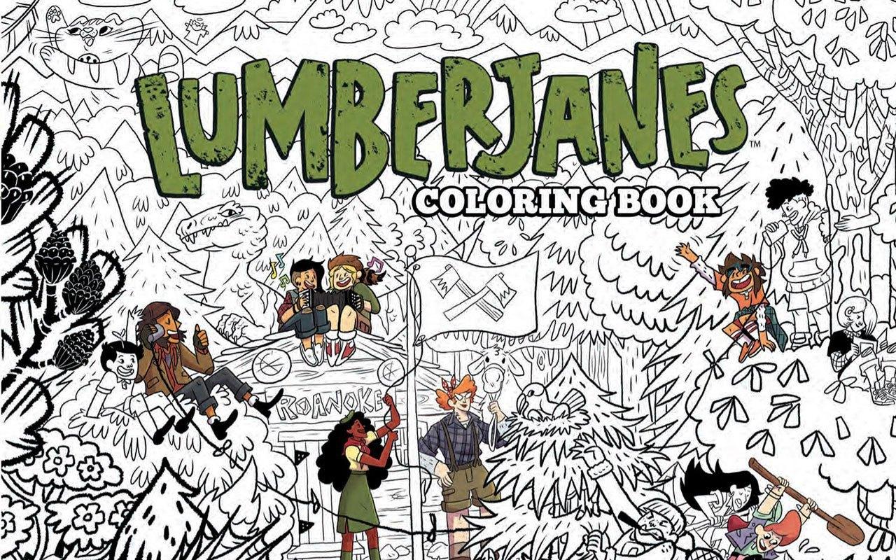 Lumberjanes Adult Coloring Book