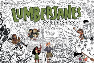Lumberjanes Adult Coloring Book