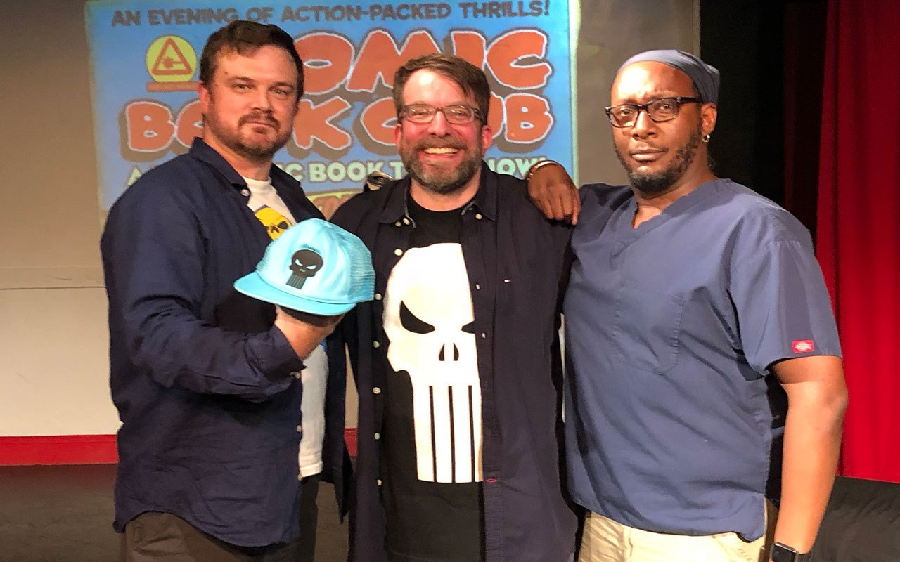 Comic Book Club - David Bennett and Noel McIntosh
